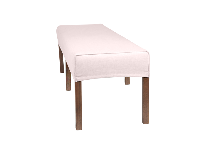 Fine 190Cm Ali Dining Bench Slip Cover With French Seam 6 Pabps2019 Chair Design Images Pabps2019Com