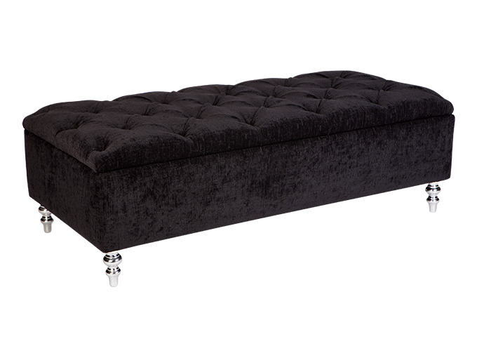 Fabulous 150Cm Ollie Bed Blanket Box Fixed Cover With Diamond Ibusinesslaw Wood Chair Design Ideas Ibusinesslaworg