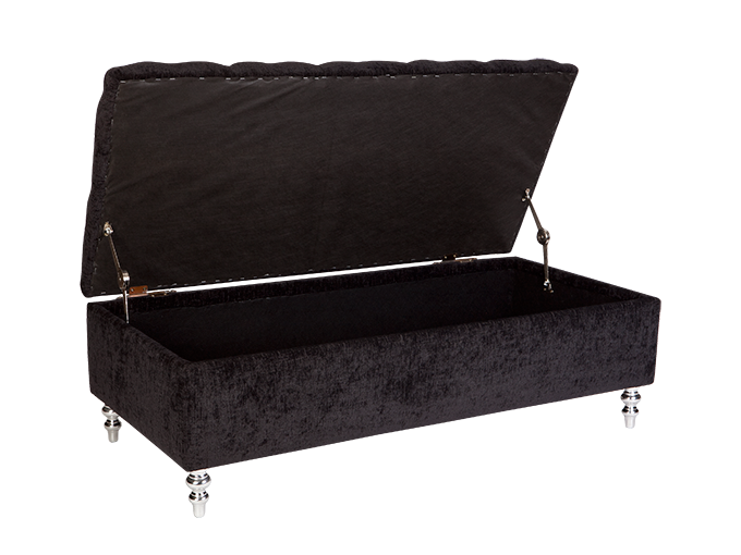Prime 150Cm Ollie Bed Blanket Box Fixed Cover With Diamond Ibusinesslaw Wood Chair Design Ideas Ibusinesslaworg